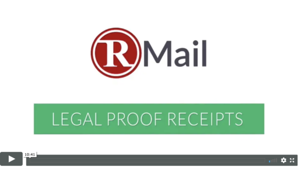 Video for RMail & RSign by RPost