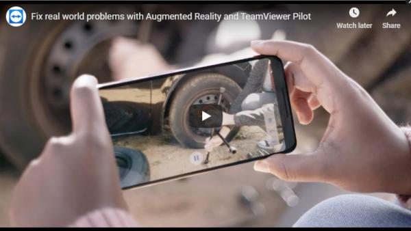 Video for TeamViewer Pilot