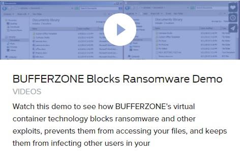 Video for Bufferzone Standalone