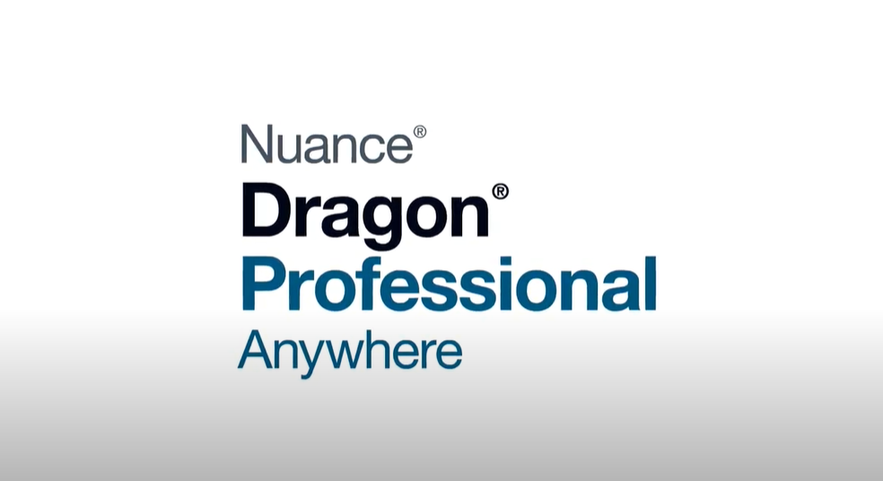 Video for Dragon Professional Anywhere Cloud