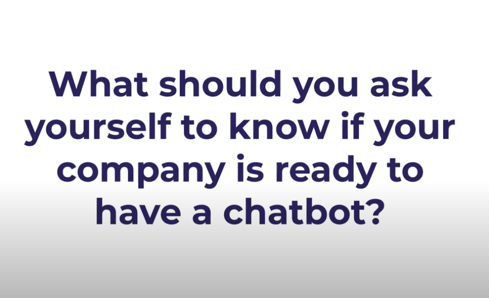 Video for Conversational AI