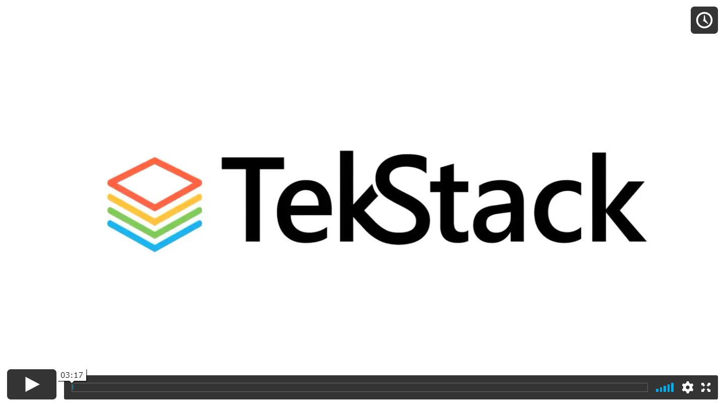Video for TekStack
