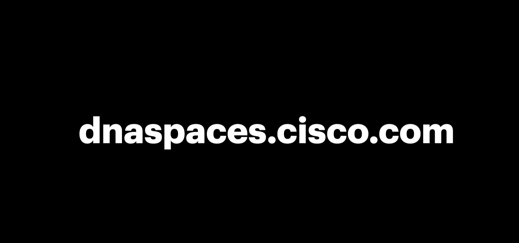 Video for Cisco DNA Spaces