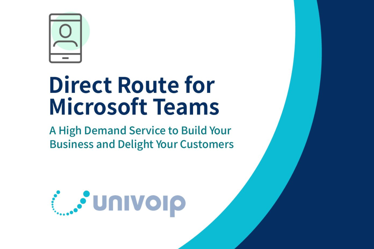Video for UniVoIP Direct Route for Microsoft Teams